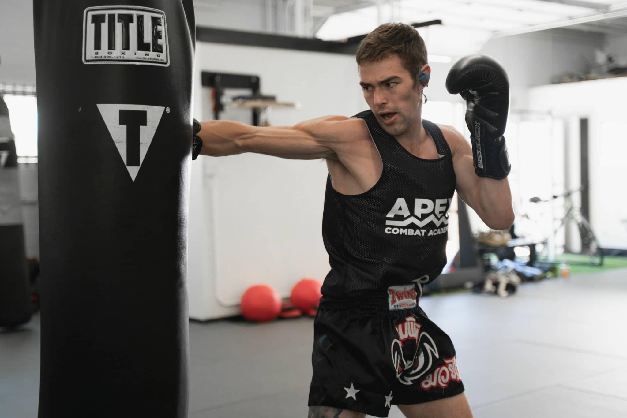 Apex Combat Academy Advanced Muay Thai Kickboxing