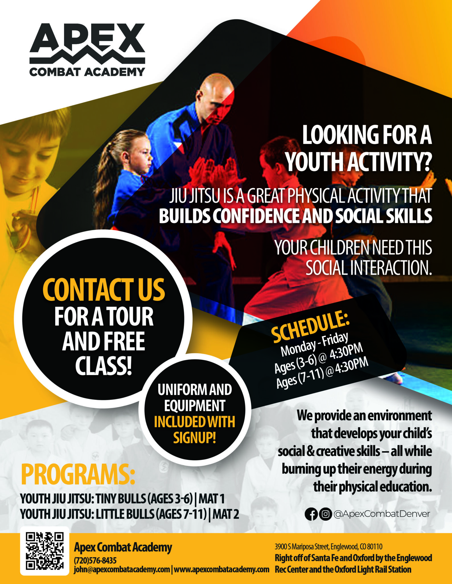 Apex Combat Academy Free Youth Class